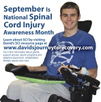 September is National Spinal Cord Injury Month
