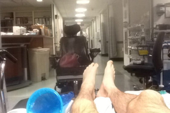 David at Cheshire Hospital