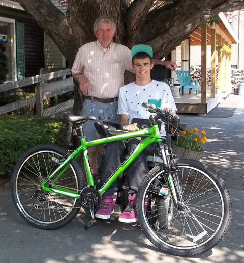 You could win this mountain bike donated by Andy's Cycle!