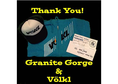 Granite Gorge & Volkl
